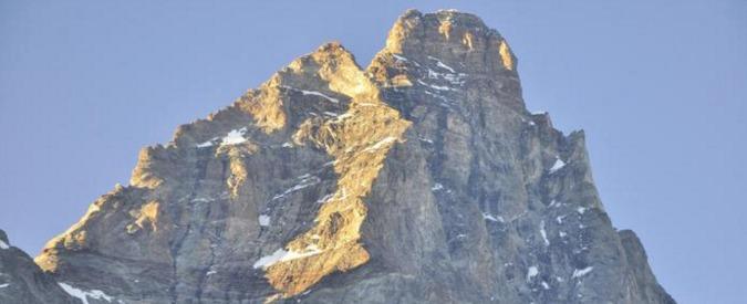 Cervino, precipitati sul versante sud il presidente delle guide alpine Gérard e un maestro di sci. Probabile caduta di sassi