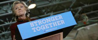"""Usa 2016, Hillary Clinton sfida l'Fbi sul caso mail: """"Renda subito pubblici i fatti"""". Sospetti dem: """"Favore a repubblicani"""""""