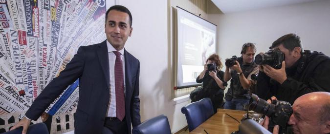 """M5s, Di Maio: """"Rivolta interna contro di me? Non vi appassionate al gossip di stampa"""""""