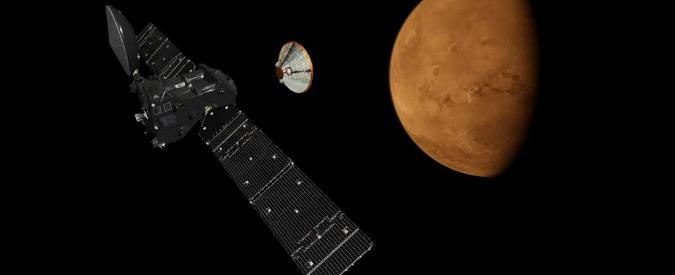 """ExoMars, nessun segnale nella notte dal lander Schiaparelli. Esa: """"Non è stato un problema di comunicazioni"""""""