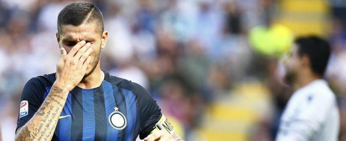 """Inter, la Curva Nord attacca Icardi: """"Hai chiuso, togliti la fascia"""". Javier Zanetti sta con loro: """"Ci saranno provvedimenti"""""""