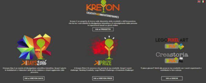 """A Roma i Kreyon days per studiare l'innovazione e la creatività dell""""adiacente possibile'"""