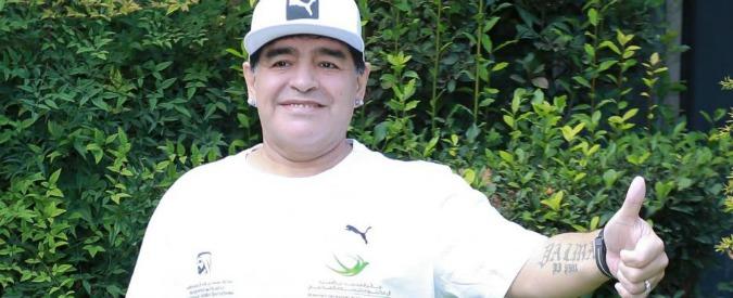 """Maradona, l'attacco a Icardi: """"Lui in Nazionale? Dei traditori non parlo"""". La replica dell'interista: """"Non è un esempio"""""""