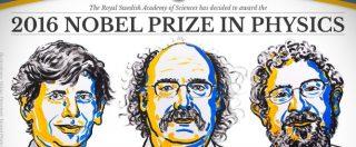 Premio Nobel per la fisica 2016 a Thouless, Haldane e Kosterlitz per la scoperta del volto esotico della materia