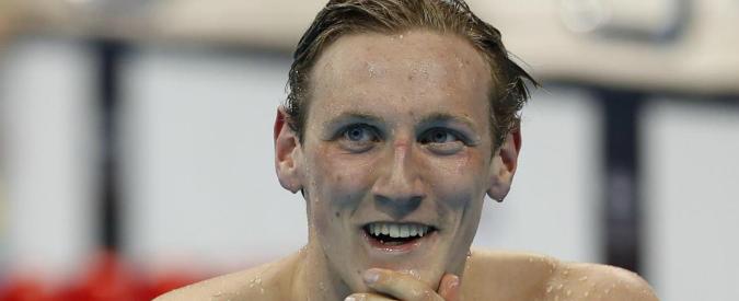 """Mack Horton, quando un fan ti salva la vita: """"Controlla quel neo"""" e il campione di nuoto scopre di avere un melanoma"""