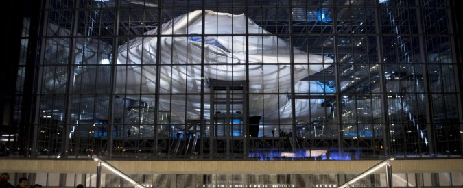 Nuvola di fuksas inaugurazione dopo 18 anni renzi for La nuvola di fuksas roma