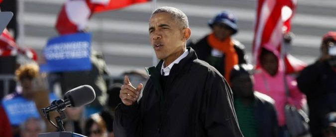 """Usa 2016, Obama: """"In gioco c'è la democrazia. Comportamento di Trump inaccettabile"""""""