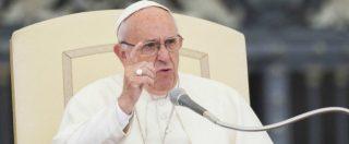 """Papa Francesco contro la corruzione: """"E' una bestemmia, un cancro che logora le nostre vite. Bisogna combatterla insieme"""""""