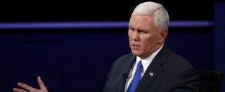 """Elezioni Usa 2016, il candidato vice di Trump: """"Indifendibile sulle frasi su donne"""". Ma lui: """"Chi mi vuole fuori è l'establishment"""""""
