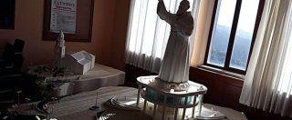 Cilento, avanza progetto per statua di Padre Pio alta 85 metri. Ma la collina ai suoi piedi è in dissesto e rischia di franare