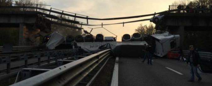 """Crollo ponte Lecco, perizia apre scenari su altri viadotti: """"Confusione tra Provincia e Anas su proprietà fu causa indiretta"""""""