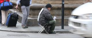 """Povertà, Istat: """"Nel 2015 il 29% degli italiani a rischio. Al Sud la percentuale è salita al 46%, al Centro è al 24%"""""""