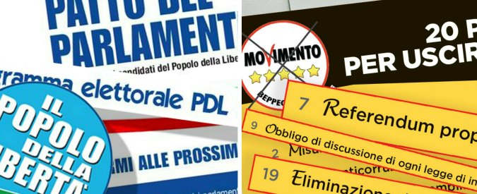"""Referendum, il comitato per il Sì: """"Punti in comune della riforma con i programmi di Berlusconi e del M5s"""""""