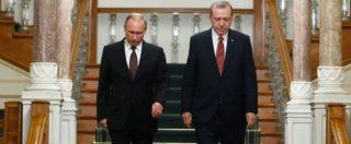 Guerra Fredda Mosca-Nato ai confini russi. Effetto della crisi dell'Unione Europea, che non sa più garantire la pace