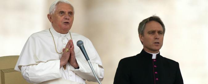 Papa Ratzinger semicieco dal 1994, la rivelazione di padre Georg Gänswein