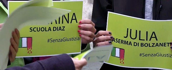 G8 Genova, l'Italia ammette (a parole) la tortura a Bolzaneto. Ora però vogliamo subito i fatti