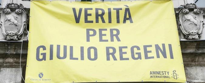 """Regeni, mozione di quattro consiglieri di centrodestra di Trieste: """"Togliere dal municipio lo striscione Verità per Giulio"""""""