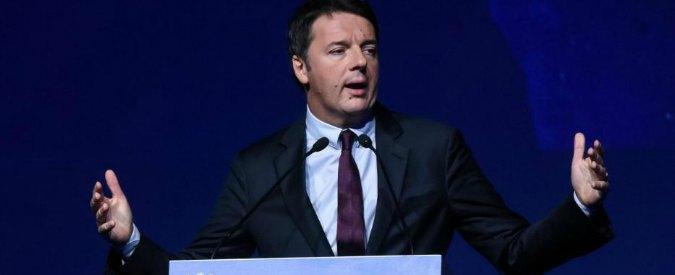 """Referendum, Renzi: """"Non si può dire sempre 'no'. L'Italia smetta di essere la patria delle divisioni"""""""