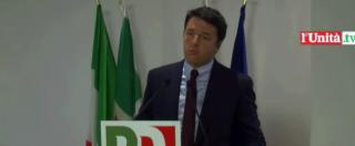 Direzione Pd, Renzi: 'Cambieremo Italicum dopo referendum'. Minoranza non si fida: 'Insufficiente, votiamo No'