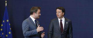 """Manovra, Renzi: """"Ue può scrivere lettera e chiedere spiegazioni, la sostanza non cambia"""". Opposizioni: """"La legge dov'è?"""""""