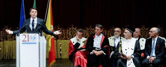 Università: i superprof nominati da Renzi? Un'operazione ideologica e inutile