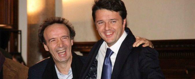 Referendum costituzionale, il Sì di governo arruola Benigni ma perde colpi