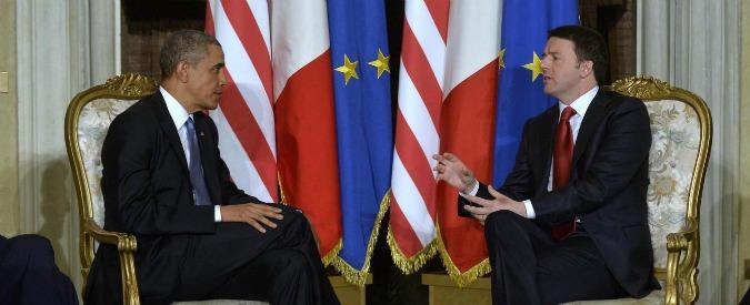 """Riforme, endorsement di Obama: """"Quelle di Renzi ambiziose e importanti. L'austerità? Rallenta la crescita Ue"""""""
