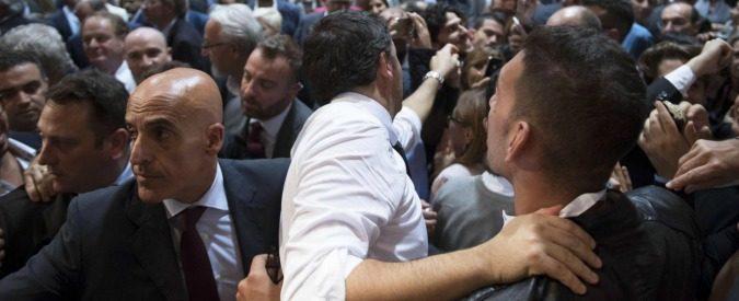 Renzi contestato a Palermo, quando Pd vuol dire 'Pestaggio democratico'