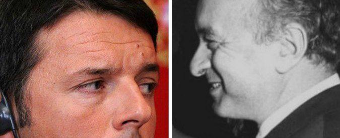 Confronto tv Renzi e De Mita, così diversi e così uguali