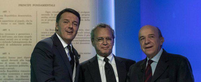 Referendum, Zagrebelsky delude nel confronto TV con Renzi