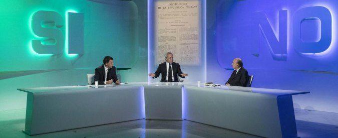 Renzi vs. Zagrebelsky, la clava imbonitoria contro l'argomentare indifeso