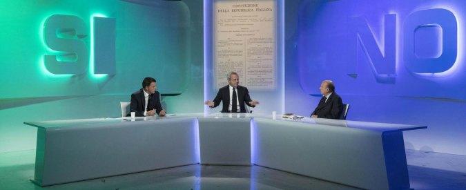 Referendum, Renzi vs. Zagrebelsky: due mondi paralleli che non si incontrano mai