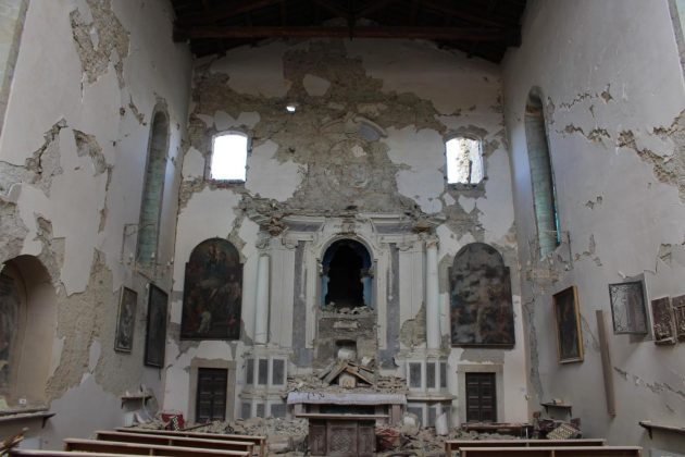 Terremoto, ad Amatrice gravi danni a patrimonio artistico