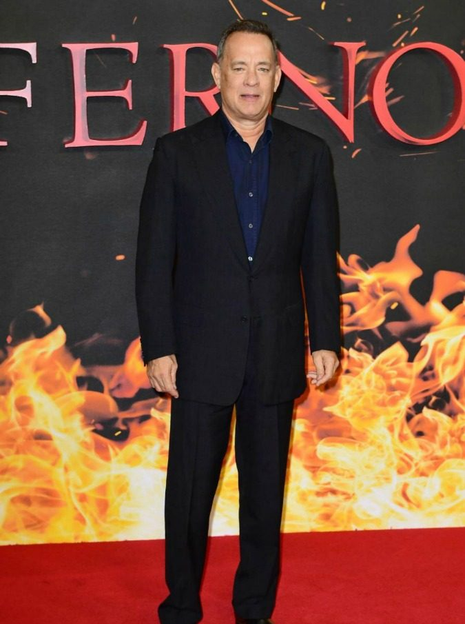 Tom Hanks attending a photocall for his new film Inferno at the Corinthia Hotel in London.  PRESS ASSOCIATION Photo. Picture date: Wednesday 12 October 2016. Photo credit should read: Ian West/PA Wire
