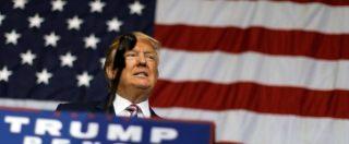 """Usa 2016, Trump ribadisce: """"Accetterò i risultati di queste elezioni solo se vinco io"""". Clinton: """"Mina la democrazia"""""""
