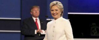 """Usa 2016, sondaggi: Clinton avanti di 1,7 punti. Onu e Economist contro Trump: """"Sarebbe un presidente terribile"""""""
