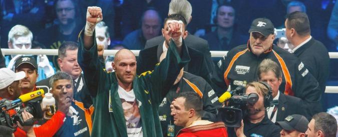 Boxe, Tyson Fury positivo alla cocaina. Il campione del mondo dei pesi massimi rischia di perdere il titolo