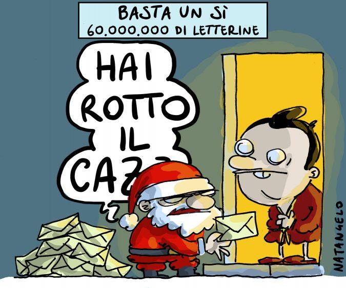 Referendum, arrivano le letterine di Renzi