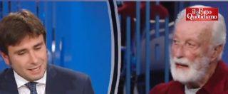 """Riforma, Di Battista (M5s) vs Scalfari: """"Sono pronto a confrontarmi con Napolitano"""". """"Incontri anche il Papa"""""""