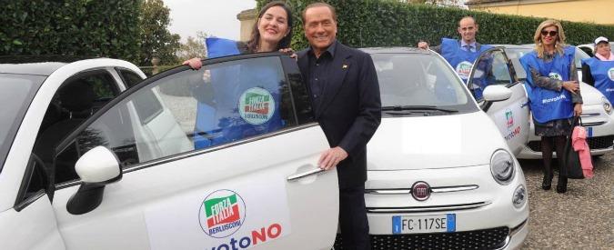 """Berlusconi: """"Renzi è unico vero leader. Lettera agli italiani all'estero? Un suo diritto"""". Confalonieri: """"Si somigliano"""""""