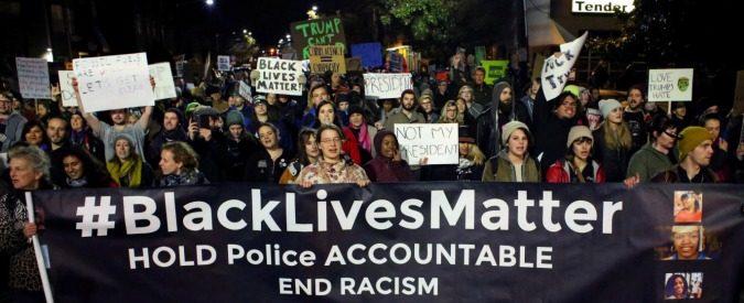 Donald Trump, gli antirazzisti di Black Lives Matter si ribellano al 'suprematista bianco'