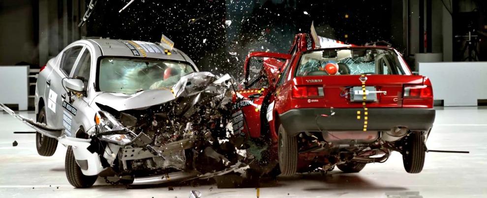 Crash test, auto vecchia vs. auto nuova. Nei Paesi poveri a perdere è la sicurezza – VIDEO