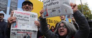 """La Turchia: """"Linee rosse dell'Ue su libertà di stampa non ci interessano"""". Il giornale Cumhuriyet: """"Non ci arrendiamo"""""""