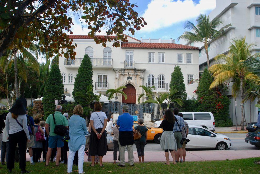 Ocean Drive, South Beach (Miami Beach): The Villa-Casa Casuarina, ex residenza di Gianni Versace