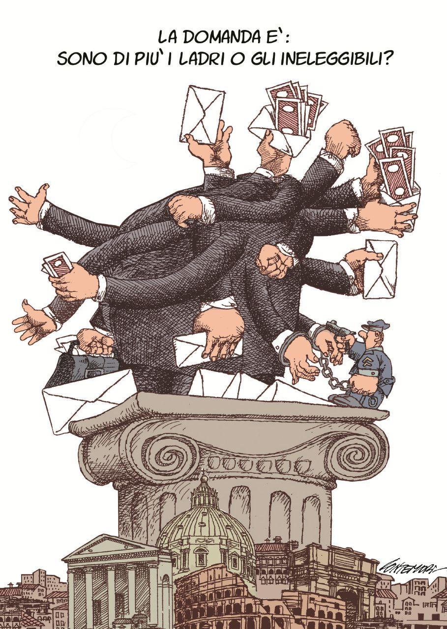 Commi, vizi e strazi della ditta Boschi, Renzi e Napolitano