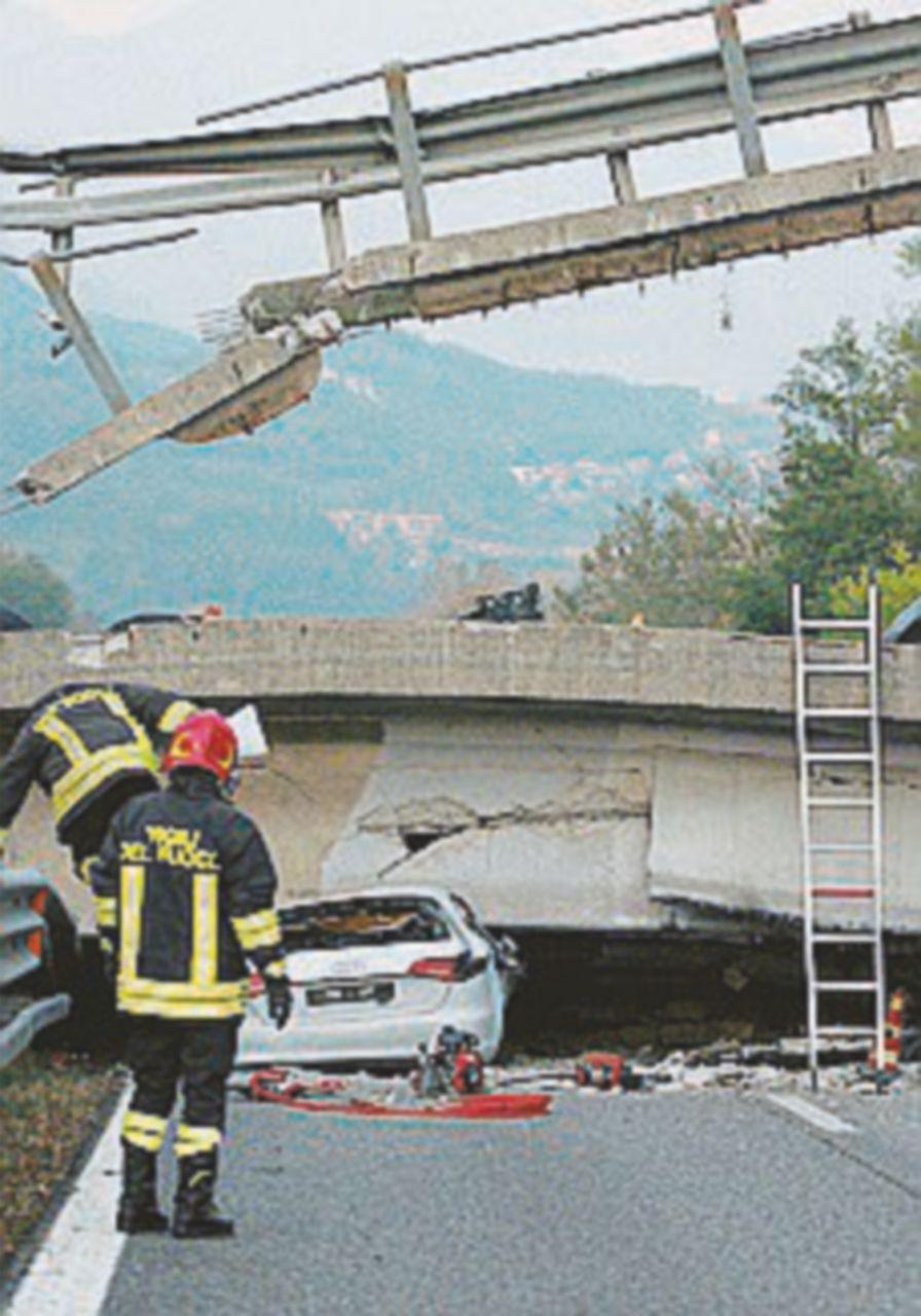 Lecco, crollo del ponte Indagati tre dirigenti di Provincia e Anas