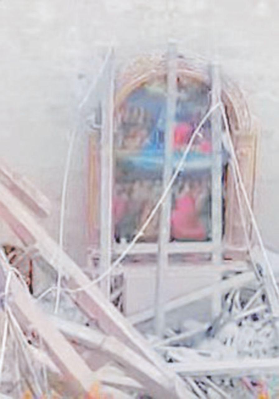 Opere d'arte, salvata la pala cinquecentesca dalla chiesa di Norcia