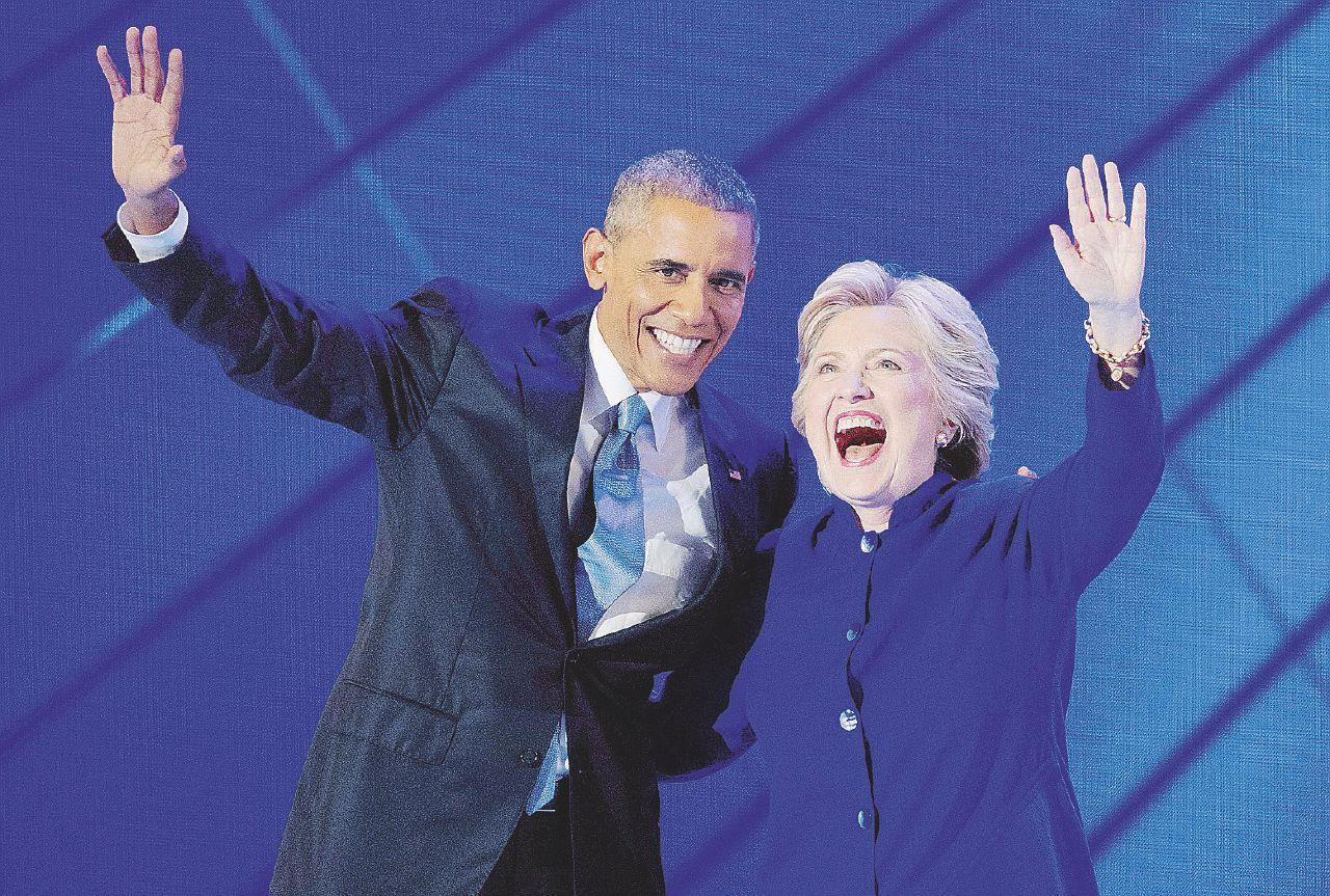 """""""Leopolda"""" Clinton-Obama contro la paura di Trump"""