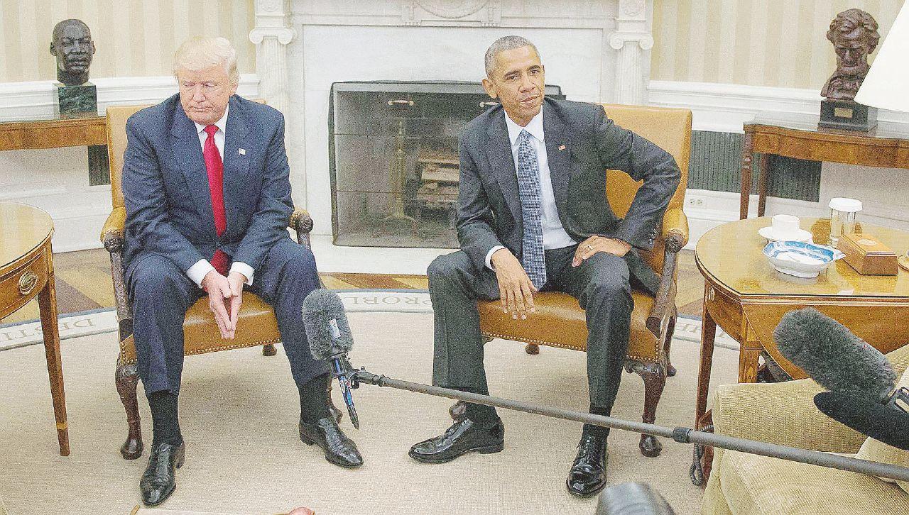 Il presidente eletto immobilizza Obama