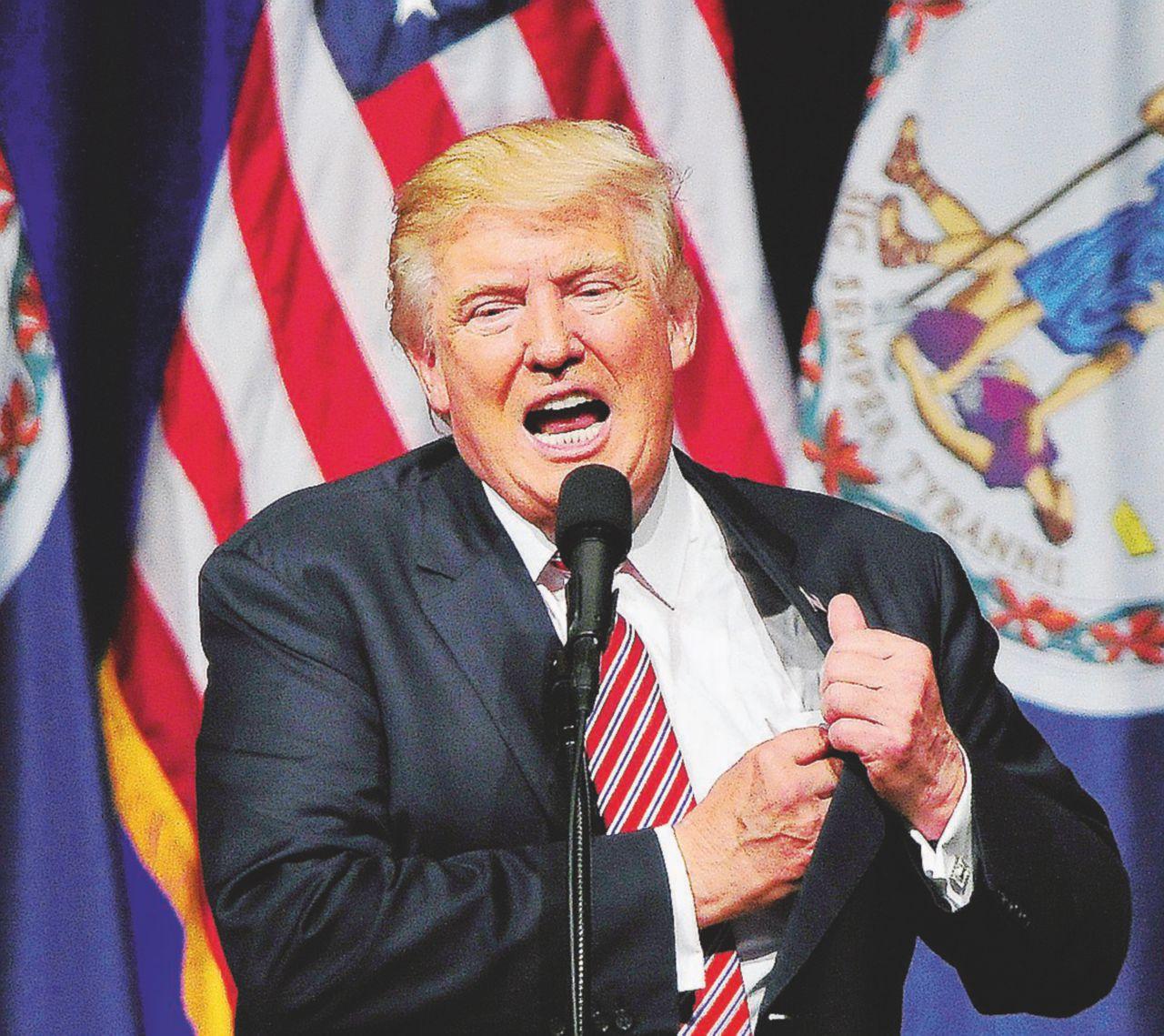 Il vincitore prende tutto Trump e l'orgia del potere